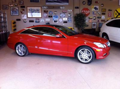 Mercedes E coupe9b
